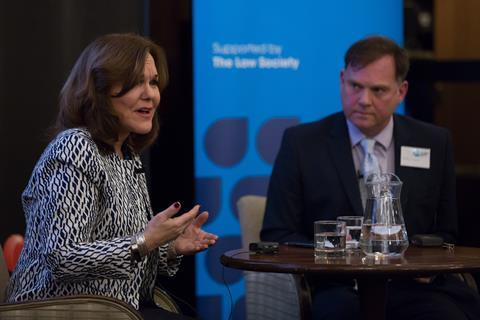 Hilarie Bass, president, American Bar Association, in conversation with Paddy O'Connell